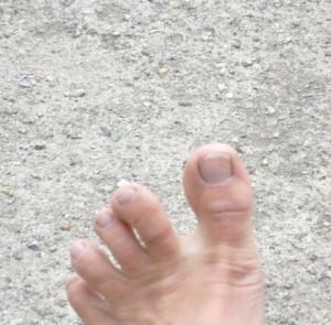 barfuß-Fuß